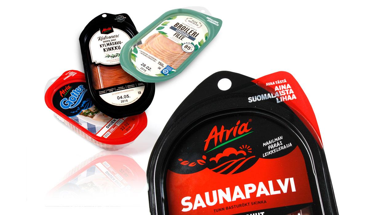 Atria Easy Open Pack taipuu monelle eri tuotteelle