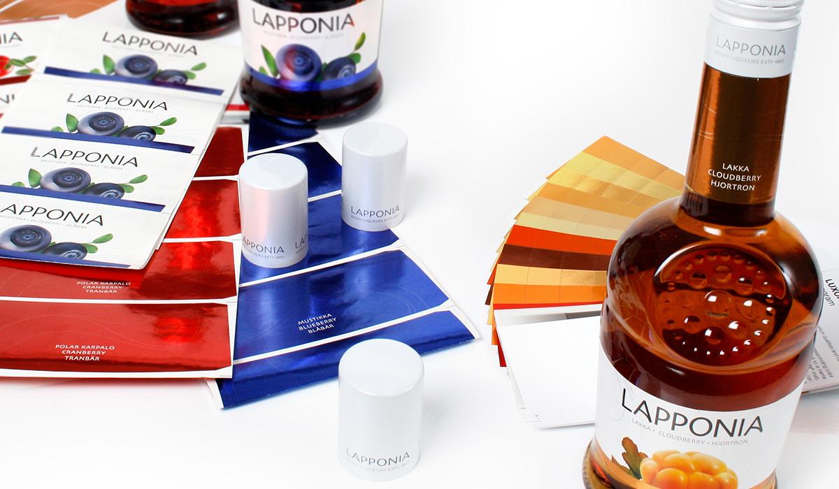 Lapponia-brändin efektisuunnittelu
