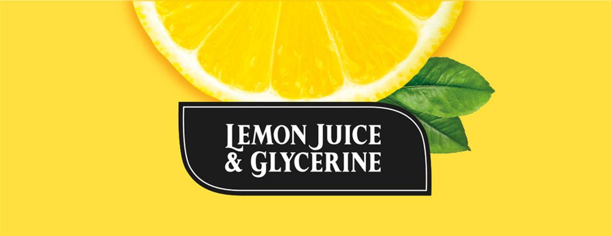Lemon Juice & Glycerine logosuunnittelu