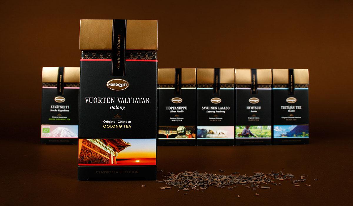 Nordqvist Classic -pakkauksia