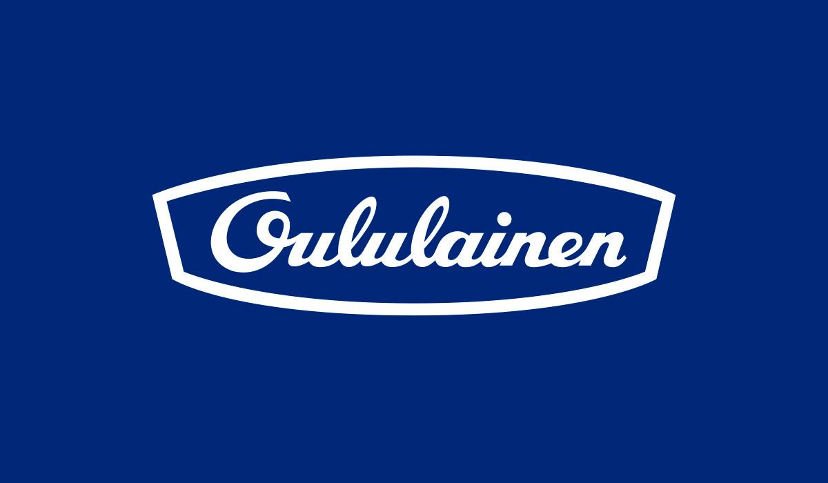 Uudistettu Oululainen logo