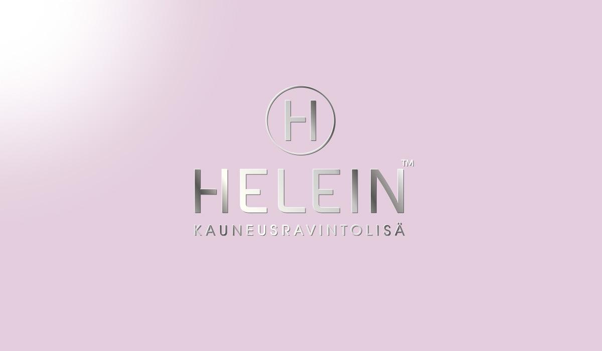 Helein logosuunnittelu