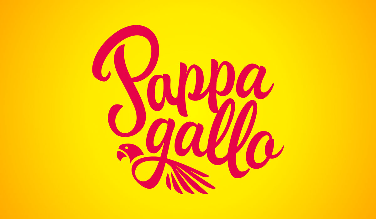 Pappagallo new logo design