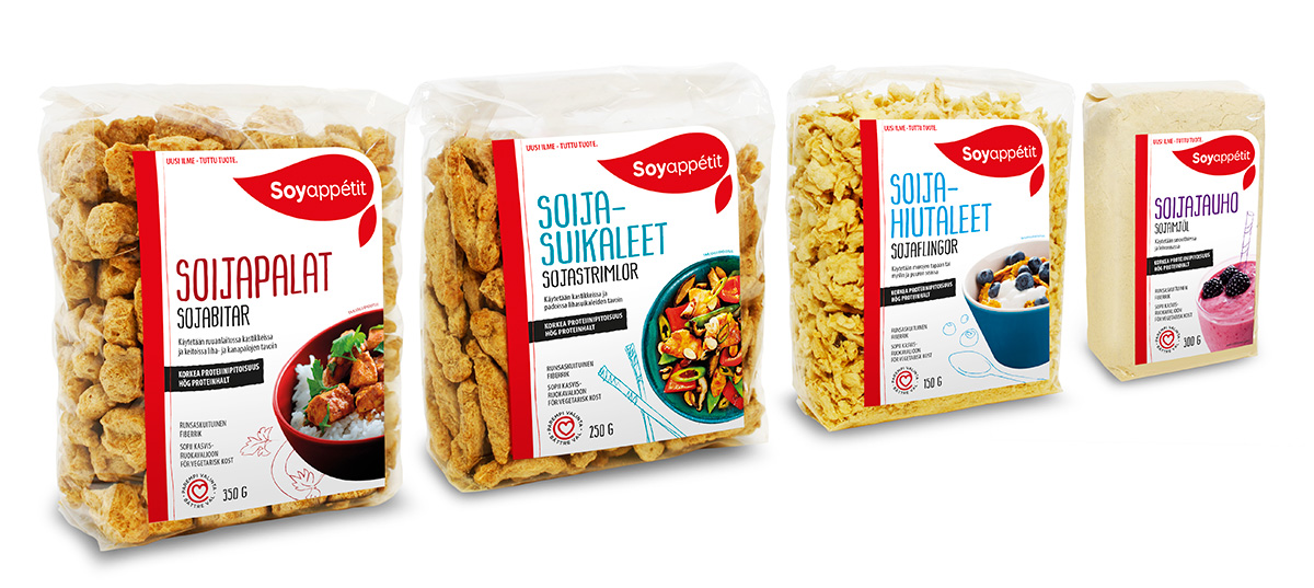 Soyappétit package design