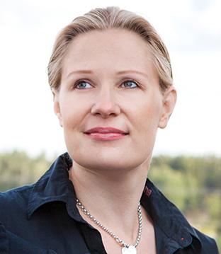 Emma Kosonen, toinen Packdesign ID:n perustajista