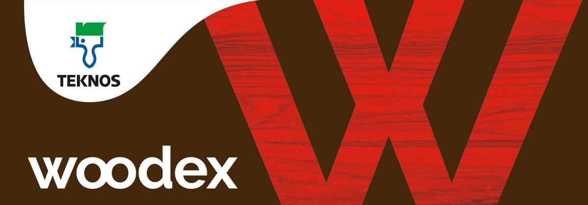 Woodex-logo ja W-tunnus