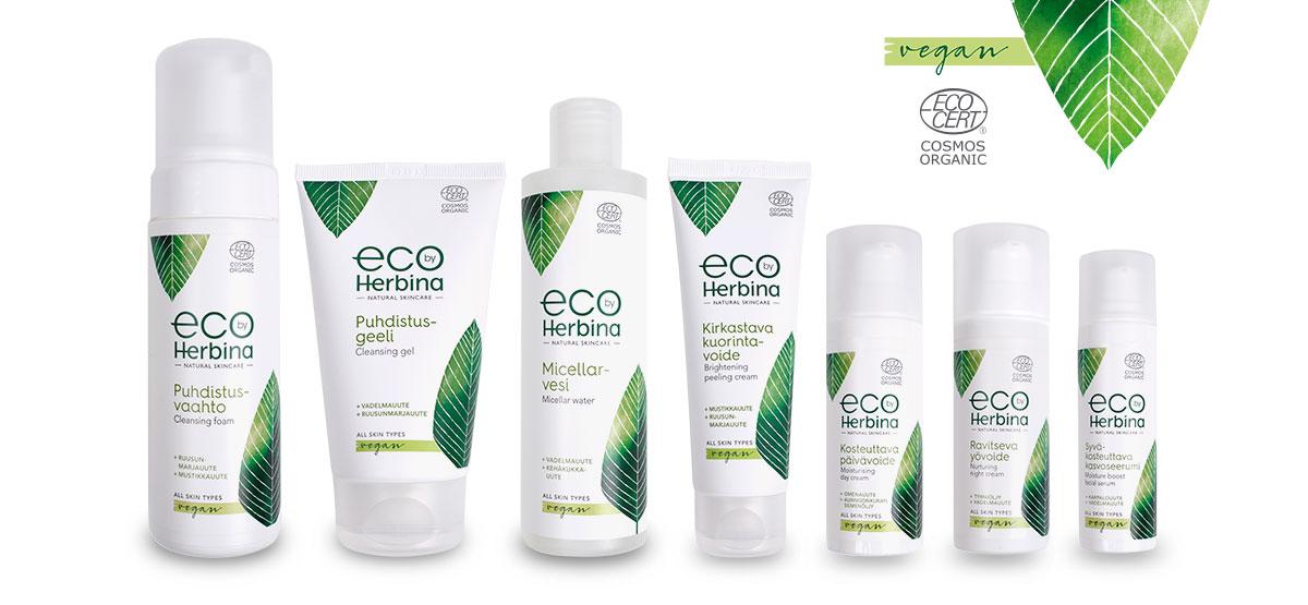 eco by herbina pakkaussuunnittelu